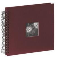 Hama album klasické spirálové FINE ART 28x24 cm, 50 stran, bordó - zvětšit obrázek