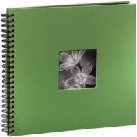 Hama album klasické spirálové FINE ART 36x32 cm, 50 stran, jablečná zeleň - zvětšit obrázek