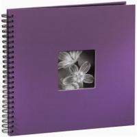 Hama album klasické spirálové FINE ART 36x32 cm, 50 stran, lila - zvětšit obrázek