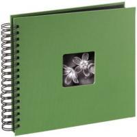Hama album klasické spirálové FINE ART 28x24 cm, 50 stran, jablečná zeleň - zvětšit obrázek