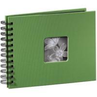 Hama album klasické spirálové FINE ART 24x17 cm, 50 stran, jablečná zeleň - zvětšit obrázek