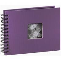 Hama album klasické spirálové FINE ART 24x17 cm, 50 stran, lila - zvětšit obrázek