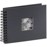 Hama album klasické spirálové FINE ART 24x17 cm, 50 stran, šedé - zvětšit obrázek