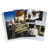 Hama photo sleeves for ring-binder albums A4, Clear, 9 x 13 cm - zvětšit obrázek