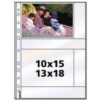 Hama photo sleeves for ring-binder albums A4, White, 10 x 15 cm - zvětšit obrázek