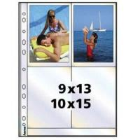 Hama photo sleeves for ring-binder albums A4, White, 10x15 cm - zvětšit obrázek